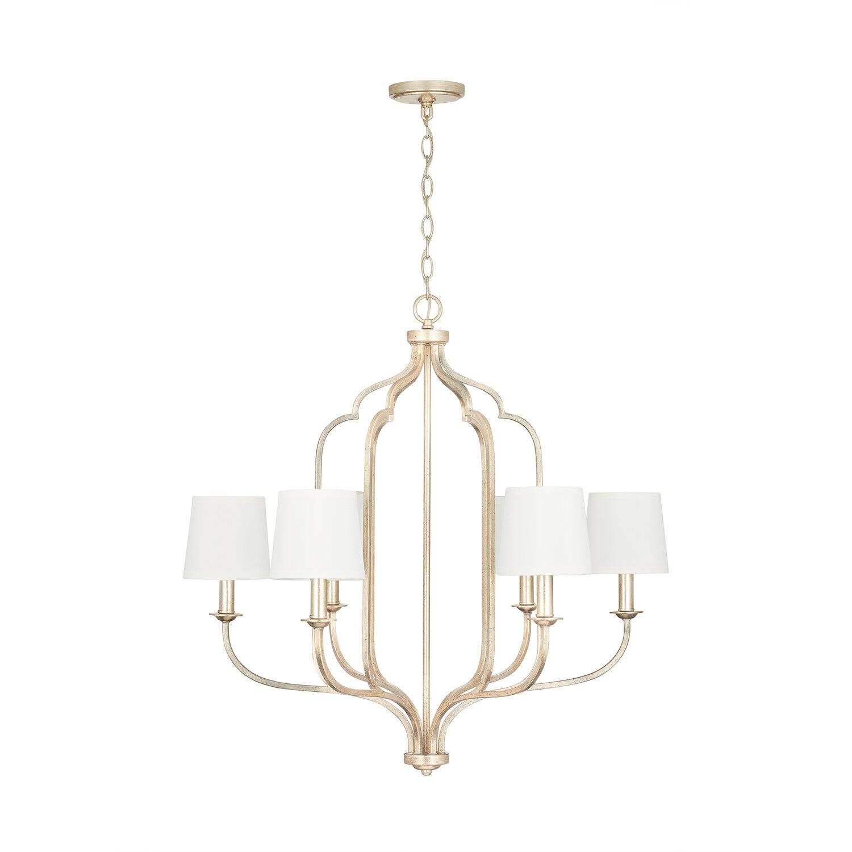 Rosdorf Park Phyllida 6 Light Shaded Classic Chandelier Reviews Wayfair
