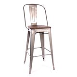 Miraculous 4 Chrome Metal Bar Stools Youll Love In 2019 Wayfair Caraccident5 Cool Chair Designs And Ideas Caraccident5Info