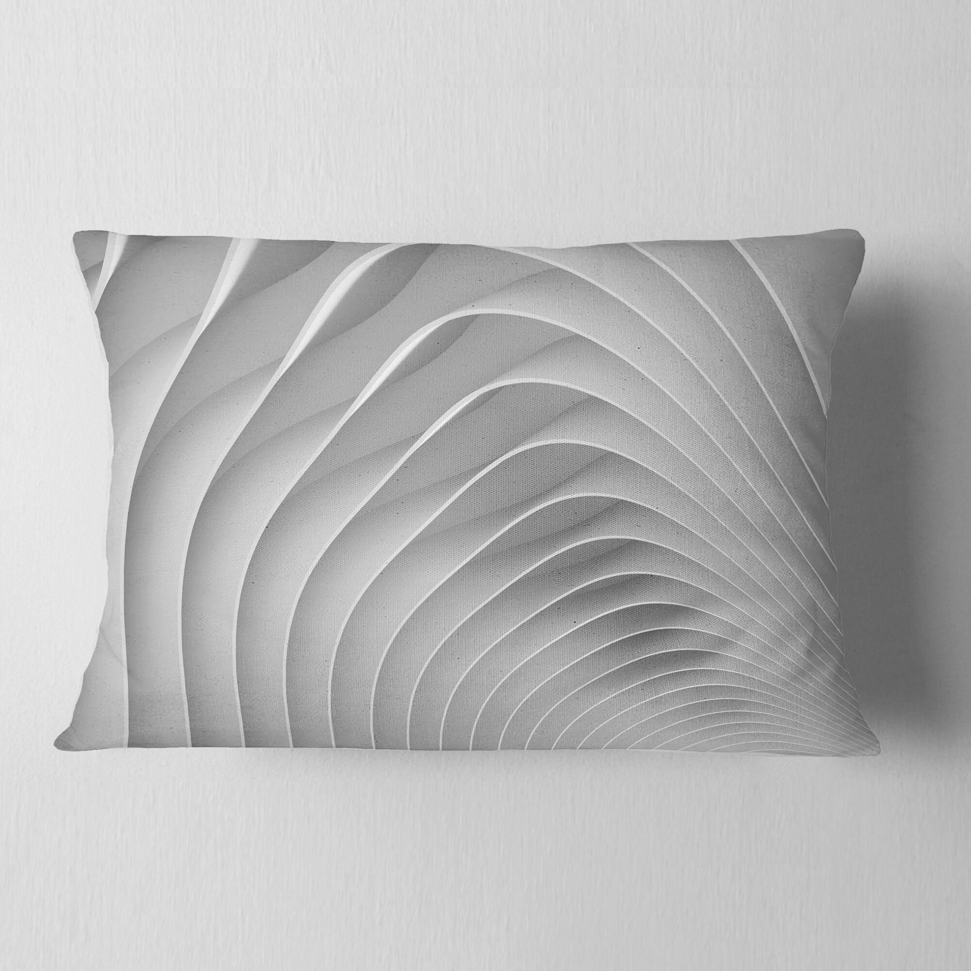 Fine Fractal Bulgy 3D Waves Throw Pillow Inzonedesignstudio Interior Chair Design Inzonedesignstudiocom