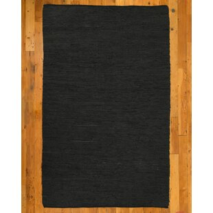 Reviews Hand-Loomed Black Area Rug ByNatural Area Rugs