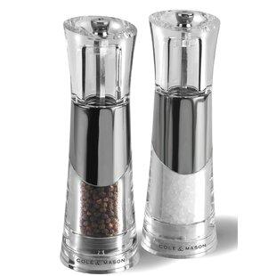 Bobbi Salt and Pepper Mill Set (Set of 2)