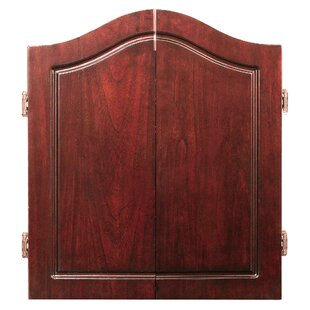 Centerpoint Solid Wood Dartboard & Cabinet Set by Hathaway Games