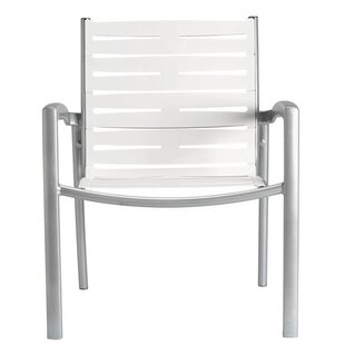 South Beach Ez Span™ Stacking Patio Dining Chair by Tropitone Today Only Sale