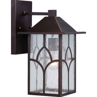 Best Price Dohn Stanton 1-Light Outdoor Wall Lantern By Red Barrel Studio