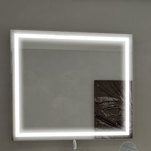 Best Reviews Harmony Illuminated Bathroom/Vanity Wall Mirror ByParis Mirror