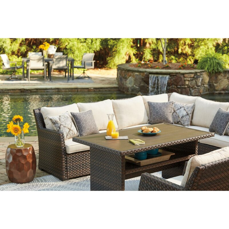 Bay Isle Home Lovejoy Patio Sectional