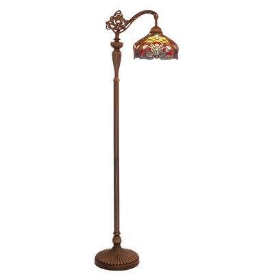 Crittenden 59 Arched Floor Lamp Fleur De Lis Living