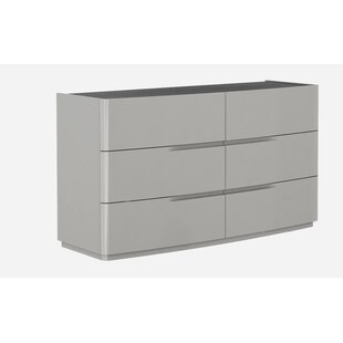 Siegle 6 Drawer Double Dresser by Orren Ellis