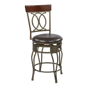 Find for Hanaford 24 Swivel Bar Stool by Alcott Hill Reviews (2019) & Buyer's Guide