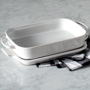 Stoneware Rectangular Baking Dish