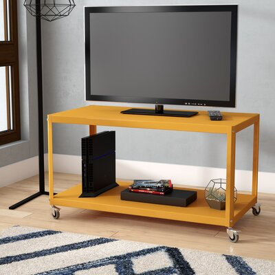 Turn on the Brights Witherspoon TV Stand for TVs up to 32 Color: Yellow Saffron