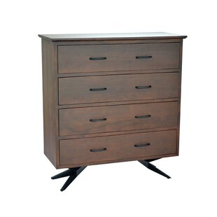 Weir 4 Drawer Standard Chest by Union Rustic