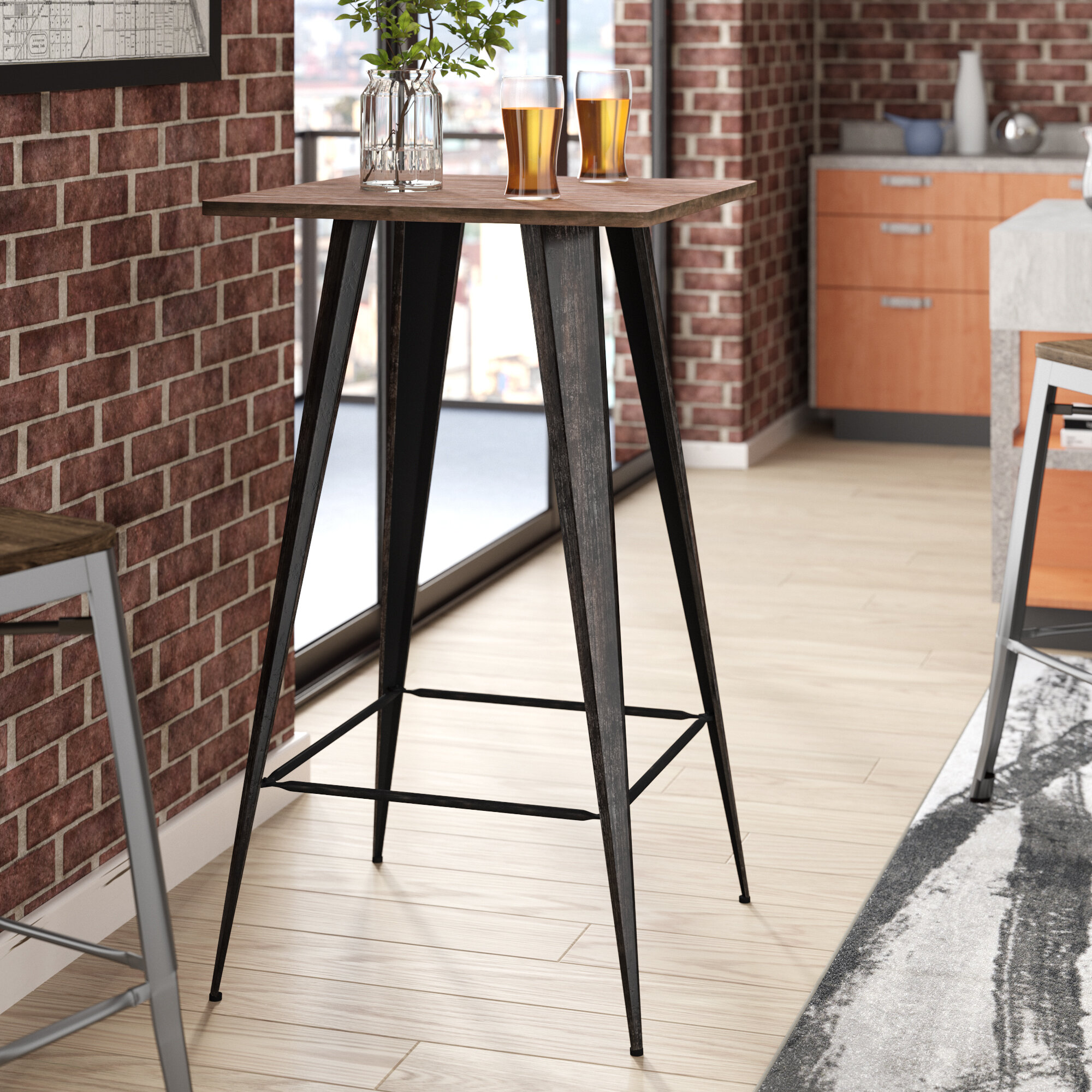 Awesome Gaetana Rectangular Counter Height Pub Table Pdpeps Interior Chair Design Pdpepsorg