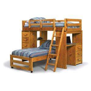 Elegant Twin L Shaped Bunk Bed