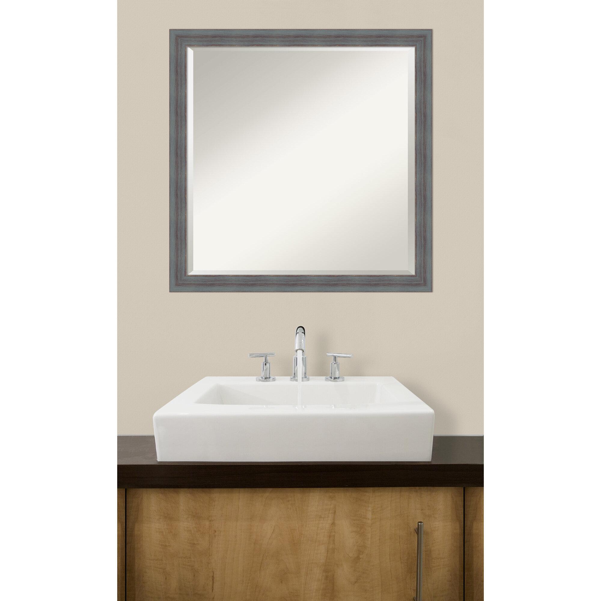 One allium way rustic wall mirror wayfair