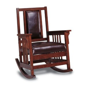 Gibb Rocking Chair by Loon Peak