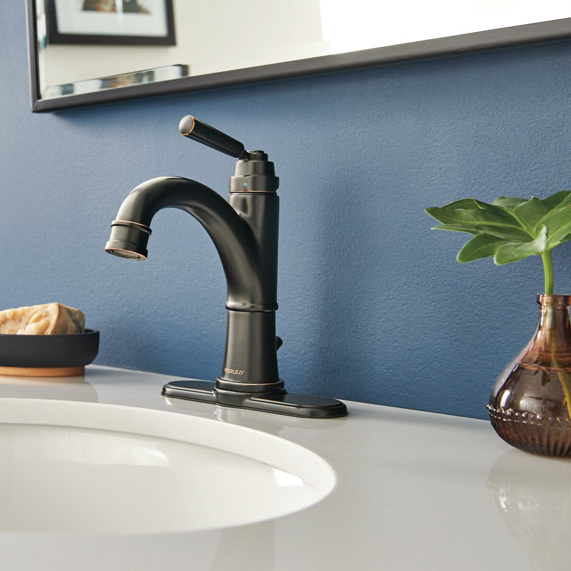 Westchester Single Hole Bathroom Faucet with Drain Assembly