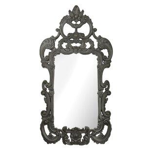 One Allium Way Black Ash Wall Mirror