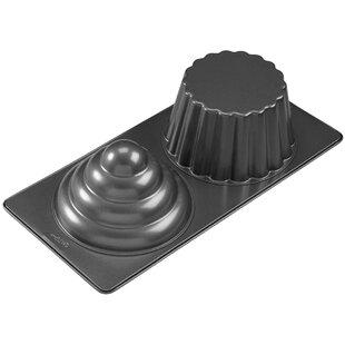 2 Cavity 3D Cupcake Pan