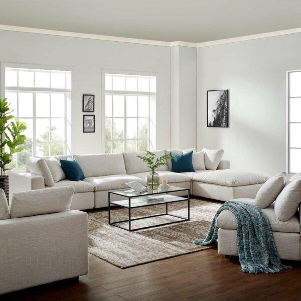 Sensational Radley 5 Piece Sectional Wayfair Ca Theyellowbook Wood Chair Design Ideas Theyellowbookinfo