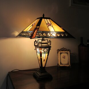 Find for Francoise Double Lit 23 Table Lamp By Loon Peak
