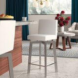 Lucio Bar & Counter Swivel Bar Stool by Brayden Studio®