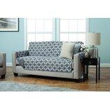 Reversible Box Cushion Sofa Slipcover