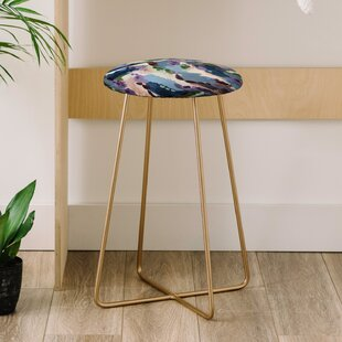 Laura Fedorowicz Wildflower Royale 25 Bar Stool East Urban Home