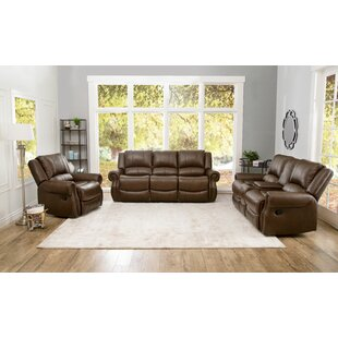 Baynes Reclining 3 Piece Living Room Set by Darby Home Co