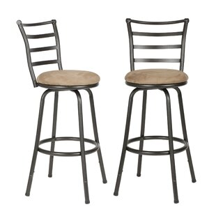 Catalano Adjustable Height Swivel Bar Stool (Set of 2)