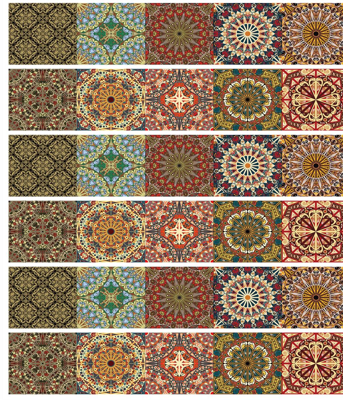 World Menagerie Arla Tiles Wall Decal Reviews Wayfair Ca