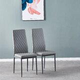 Suren Upholstered Metal Side Chair (Set of 4) by Latitude Run®