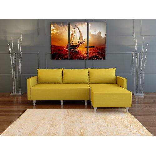 George Oliver Geir 79 Reversible Sleeper Sofa Chaise Wayfair