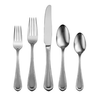 Satin Countess 45 Piece Flatware Set, Service for 8