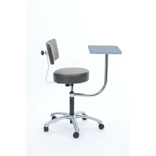 Height Adjustable Stool With Desk by Brandt Industries Design