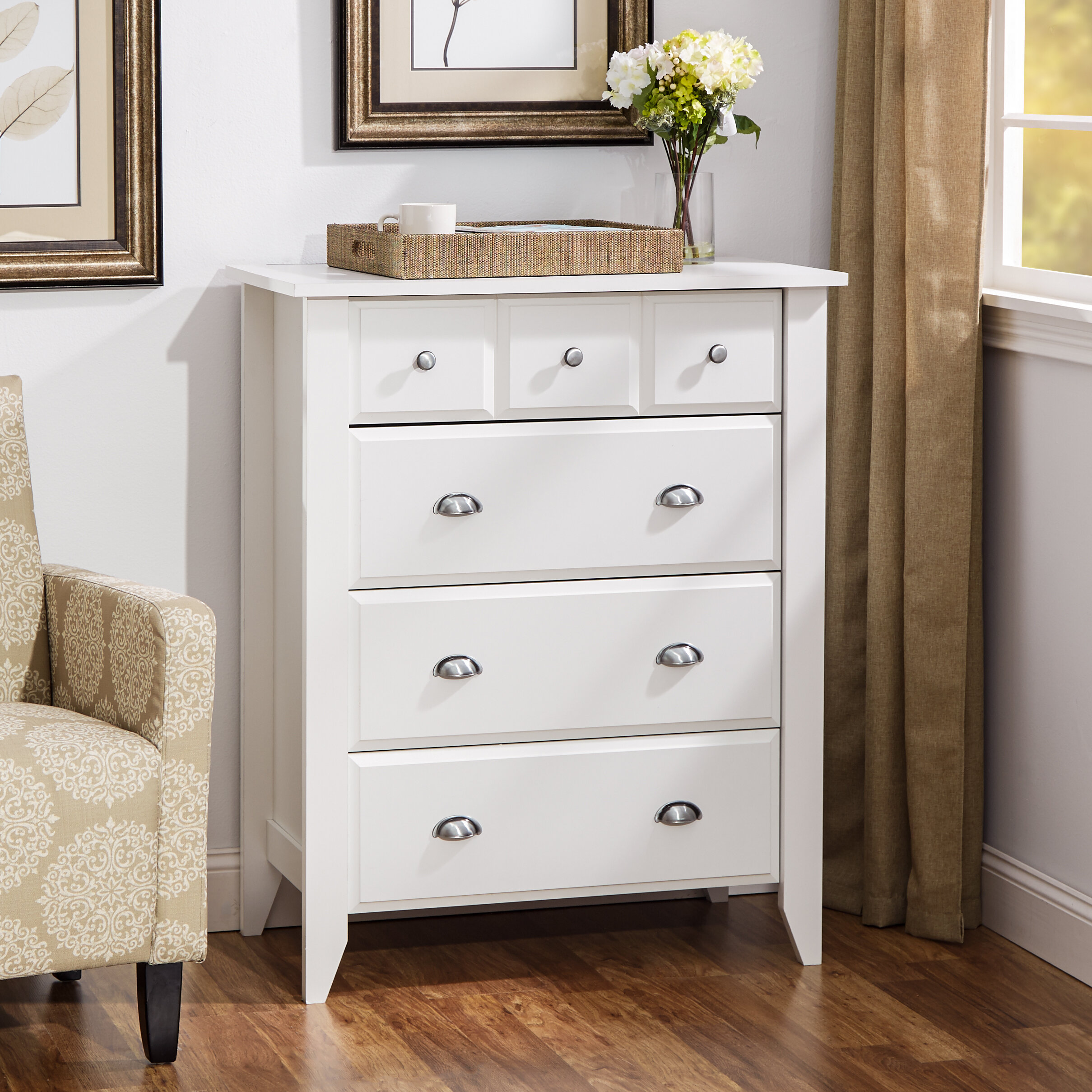 Three Posts Baby Kids 4 Drawer Chest Reviews Wayfair