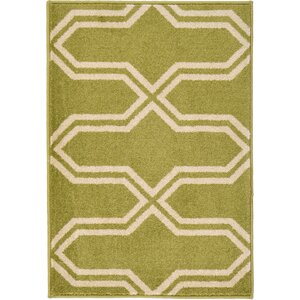 Marika Light Green Area Rug