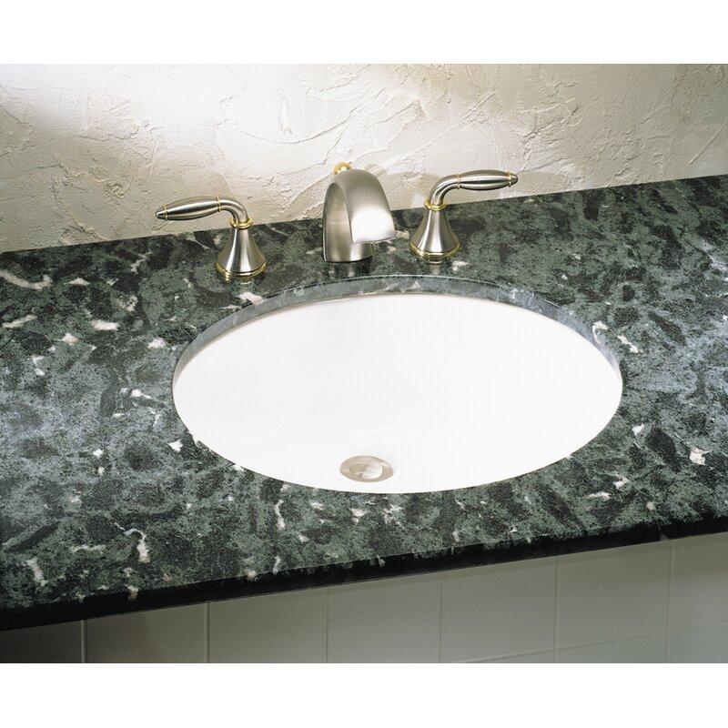 American Standard Ovalyn Ceramic Oval Undermount Bathroom