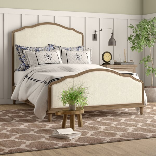 Culbane Upholstered Standard Bed Reviews Birch Lane