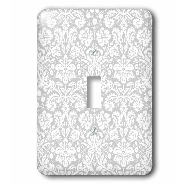 3drose Fancy French Floral Swirls Stylish Classy Elegant 1 Gang Toggle Light Switch Wall Plate Wayfair