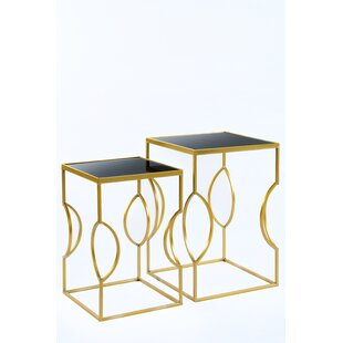 Bargain Set of 2 Clemence Side Tables By Statements by J