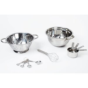 11 Piece Stainless Steel Mixing Bowl Set