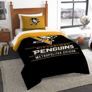 NHL Draft 2 Piece Twin Comforter Set