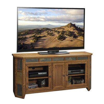 "Oak Creek Solid Wood TV Stand for TVs up to 70"" Legends Furniture"
