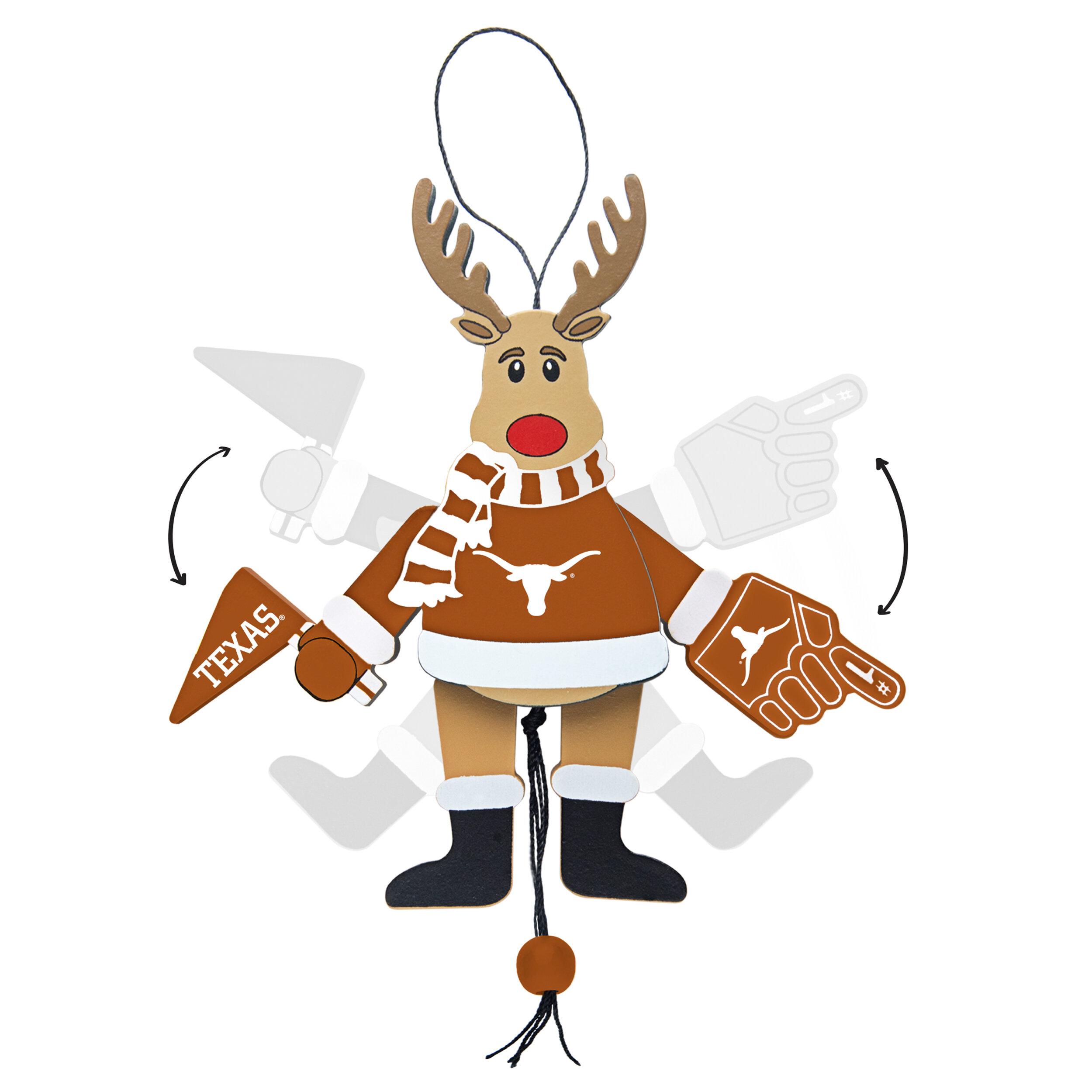 NCAA Texas Longhorns Snowflake Ornament