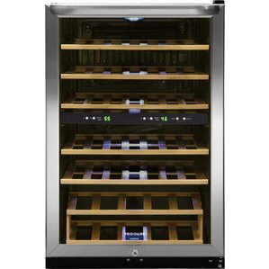 38 Bottle Dual Zone Freestanding Wine Cooler by Frigidaire