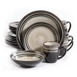 Lewisville 16 Piece Dinnerware Set, Service for 4