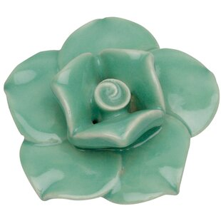 Nature Flower Ceramic Novelty Knob