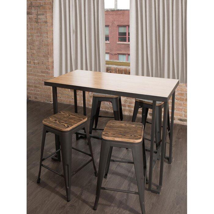 Pleasant Calistoga Counter Height Dining Table Machost Co Dining Chair Design Ideas Machostcouk