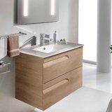 Lovins 32 Wall-Mounted Single Bathroom Vanity Set by Orren Ellis